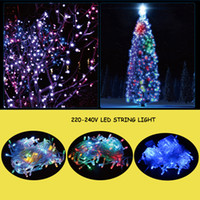 amazing christmas trees - Christmas Light Amazing LED String Light Christmas Tree Decoration Light V For Christmas Wedding Halloween Party LED Flash Lighting