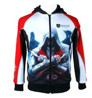 Wholesale Stylish Creed Hoodie Cool Cosplay For Assassins Jacket Costume Assassins Creed Colorful Styles
