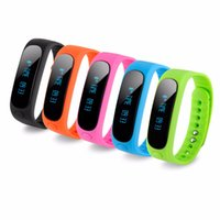 Wholesale Excelvan E02 Bluetooth Smart Bracelet Fitness Message Camera Remote Sleep Tracking Task Alert Compatible with Android and IOS