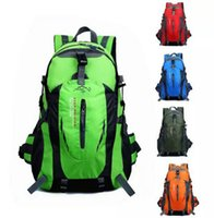 Wholesale 2016 Hot new large capacity outdoor backpack mountaineering bag men and women riding hiking bag computer bag