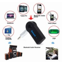 active music kit - Universal mm Streaming Car A2DP Wireless Bluetooth Car Kit AUX Audio Music Receiver Adapter Handsfree with Mic For Phone MP3