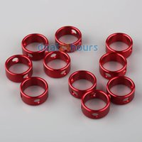 awning track - 10pcs Red Ring Awning Caravan Tent Rope Cord Tensioners Guyline Runner Camping order lt no track