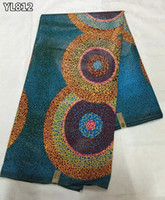 africa wax - Unisex Christmas sewing real wax cloth beautiful africa prints wax ankara fabric wax YL812 YL813 YL814