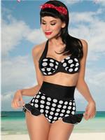 El traje de baño floral rayado multicolor libre del envío atractiva tentó el bikiní del bikiní del leopardo el traje de baño rellenó el bikiní SEXY del traje de baño de la playa del verano del traje de baño