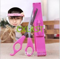 Wholesale Hair Tools Bang Cut Kit Scissor Hair Clip Trimming Package Haircutting Tools Brand New