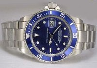 automatic dive - hot sale R mens luxury watch top brand automatic watch steel blue dive watch