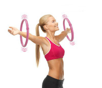 Wholesale arm building weight hula hoop workout freeshipping