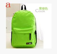 Wholesale new shoulder bookbag leisure bag men and women college wind bag student backpack for girls