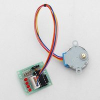 Wholesale New Board ULN2003 Line Phase V Stepper Motor BYJ With Drive Test Module