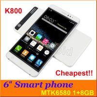 big black stores - Bocoin K800 quot G GB Quad Core Android G Smart Phone GHz Dual Sim GPS MTK6580 Mobile WCDMA Unlocked big screen phablet