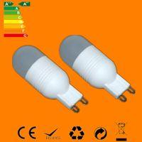 ac ceramic lights - 2016 Sale Promotion High Quality Led Lamps G9 Cob leds w Crystal Chandelier Light Ac v v Ceramic Body Droplight Bulb