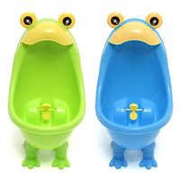 Wholesale Hot Style Popular Cute Style Boy Baby Pee Potty Urinal Trainer Toilet Training Children Kid Independence Healthy Bathroom Helper