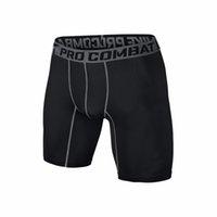 Wholesale Sports gym shorts PRO Short Men Running compression shorts Sweatpants Bodybuilding Combat Dry Training Leggings men short pants