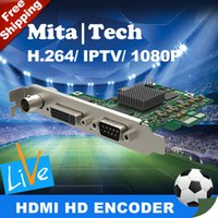 Wholesale Full HD P fps All In One Versatile HD Video Capture Card SDI HDMI VGA CVBS Audio To PCI e Capture Card For PC