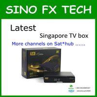 Wholesale 2016 Newest blackbox starhub box singapore V8 Golden DVB S2 T2 Cable for EURO football match better than amiko mini combo qbox hdc