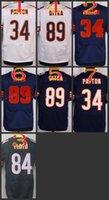 bears payton jersey - NIK Elite Football Stitched Bears Payton Draft Floyd Ditka White Blue Orange Elite Jerseys Mix Order
