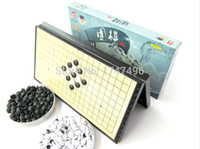 Wholesale HOT Quality Collapsible magnetic Game of Go Go Board Game WeiQi Baduk Full Set