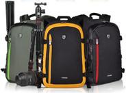 Wholesale Professional camera bag waterproof digital camera bag Canon Nikon SLR camera backpacks length For Three Colors