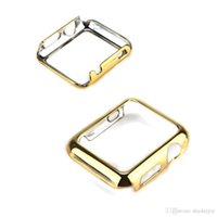 Wholesale Ultra Slim Thin Metal Guard Frame Bumper Protective Case Cover Shell For Smart Watch iWatch Apple Watch mm