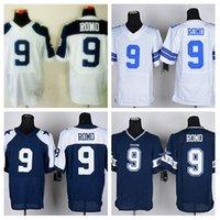 cowboys jerseys - HOT SALE Men s Cowboys Elite Football Jerseys ROMO High Quality Stitched authentic Four Colors Allowed