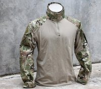 Wholesale Combat Shirt airsoft military Multicam camouflage Cotton Nylon hunting jackets