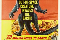 american mile - 20 Million Miles To Earth Movie Classic Poster Home Decoration Art Silk Wall Poster High quality Picture Silk Poster x36inch