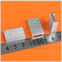 aluminium heatsinks - mm Extruded Aluminium Heatsinks Radiator TO TO220 MOSFET Heatsink heatsink aluminum heatsink material