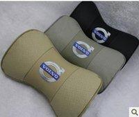 Volvo XC90 reposacabezas de cuero XC60 S80L S60 S40 C30 su cojín de cuero V60 Una almohadilla del cuello