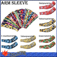 Wholesale NEW brand new dhl shipping Compression Sports Arm Sleeve Moisture Wicking softball baseball camo sports guard