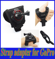 Wholesale Wrist Hand Strap Mount Adjustable Degree For Gopro Hero Xiaomi SJ4000 SJ5000 Action Sport Camera Accessories
