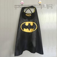 Wholesale Choose from options Superhero Capes and masks for kids birthday party favor