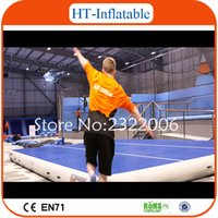 Wholesale 2016 High Quality x2x0 m Gym Floor Mat Inflatable Air Track Outdoor Gym Mat Tumble Track For Sale