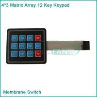 avr c - Matrix Array Key Membrane Switch Keypad Keyboard for Arduino AVR PI C