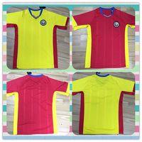 romania-soccer-jersey - New Thailand Romania Away Home Red Yellow Soccer Jersey full Shirt football jerseys