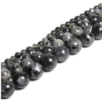 Wholesale Black Spectrolite Natural Stone Beads For Jewelry Making Labradorite Stone DIY Bracelet Necklace mm mm mm mm mm