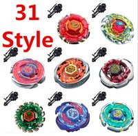 Wholesale 31 Style DHL Beyblade Metal Fusion D Set BB105 BB108 BB109 BB111 BB113 BB114 BB118 BB120 Kids Game Toys Children Christmas Gift