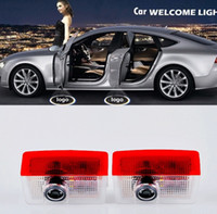 Wholesale 2pcs Car Door light Ghost Shadow LED Welcome Light Laser Projector for Mercedes Benz E B C ML Class w212 w166 w176