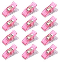 Wholesale 100pcs Plastic Quilter Holding Wonder Clips Sewing Accessories Quilt Binding New clothing fabric fixed office stationery Patchwork seam cla