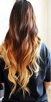 al por mayor 3tone pelo ombre-Pelo humano europeo 1b / 4/27 3Tone Extensiones del pelo humano Unprocessed Weave suave del cuerpo y onda 4Boundles 3,4,5lot / Pack 100g