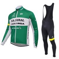 autumn ale - Ale CAJA RURAL Cycling Jerseys Long Sleeves Autumn Style For Men MTB Road Racing Ropa Ciclismo Size XS XL Bike Wear