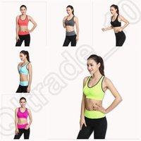Wholesale 200Set Fitness Gym Running Yoga Sports Stretch Bras Set Split Bras Suit Set Fashion Womens Exercise Leggings Bras Trousers
