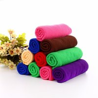 auto cleaning cloth - Hot Selling Microfibre Cleaning Cloths Home House Household Clean Towel Auto Car Window Wash Tools Cleaning Clothes