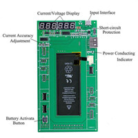 Cheap 6 in 1 Professional Battery Activation Charge PCB Board with USB Cable for iPhone 4 4s 5 5S 6 6 plus Circuit Tester