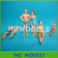 architecture scale model people - scale model swim pool figures model swimming people for architecture