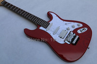 big red guitar - ST double tremolo electric guitar Scalloped Fingerboard Yngwie Malmsteen Guitar Big Head ST Electric Guitar