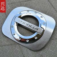 Wholesale 2007 Toyota Corolla ABS plating tank cover trim car styling