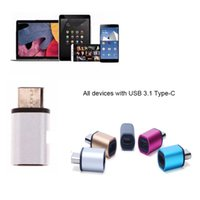 bag connector - USB Type c Male to Micro USB Converter Micro Connector Adapter for Samsung Oneplus XiaoMi with OPP BAG