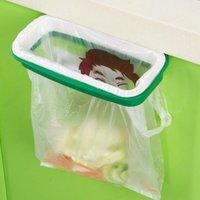 Wholesale Cute Home Kitchen Cabinet Trash door hanging storage Storage Support Organizers Garbage Holder Portable