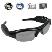 Wholesale 8Gb memory in Spy Sunglasses Sun Glasses Spy sunglass camera video MP3 bluetooth Spy galsses
