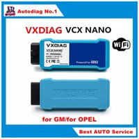 automotive communications - New Arrival WIFI VXDIAG VCX NANO for G M for OPEL Diagnostic Tool GDS2 Vehicle Communication Interface
